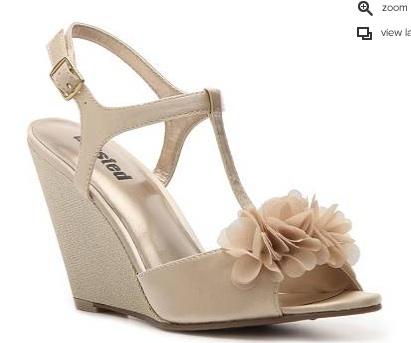 Had to abandon my wedding shoes….. :(