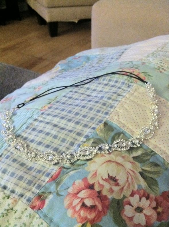 Private Label by G Headband for Sale! :  wedding crystal headband jewelry Headband 1