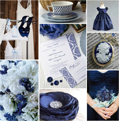 Navy Blue Dress on Laniyah S Blog  Country Chic Real Wedding By Brett Arthur Weddings