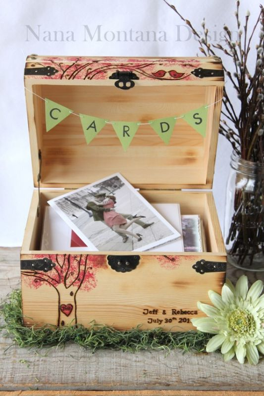 We almost did something like this Card Box Ideas wedding cards gifts