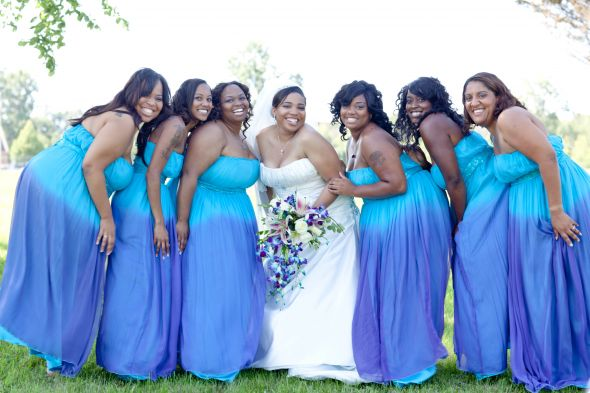 My Bridesmaids and I :  wedding bridesmaids Jackson IMG 9560