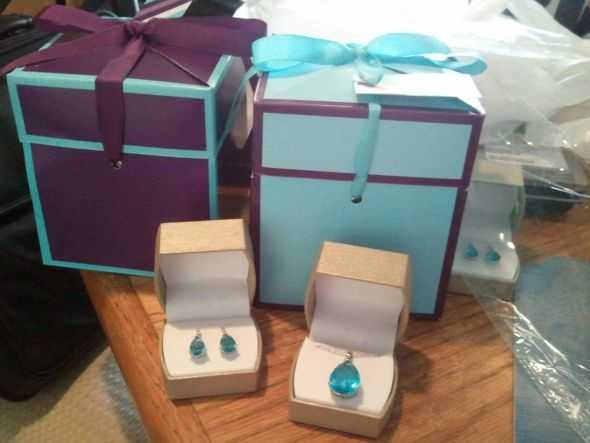 Bridesmaids Gift Boxes and Hostess Gift Bags