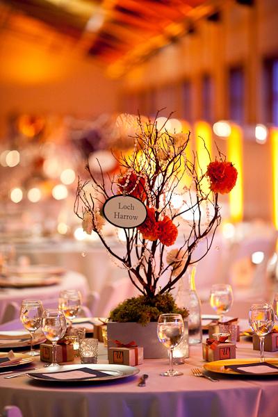 Gorgeous Manzanita Centerpieces wedding manzanita reception centerpiece