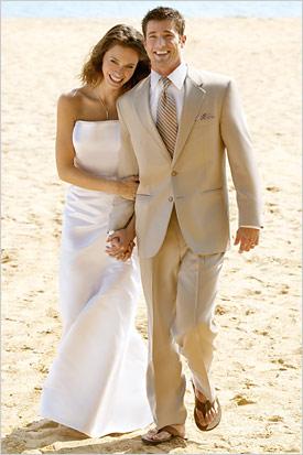 Help Grooms Men Attire At Beach Wedding
