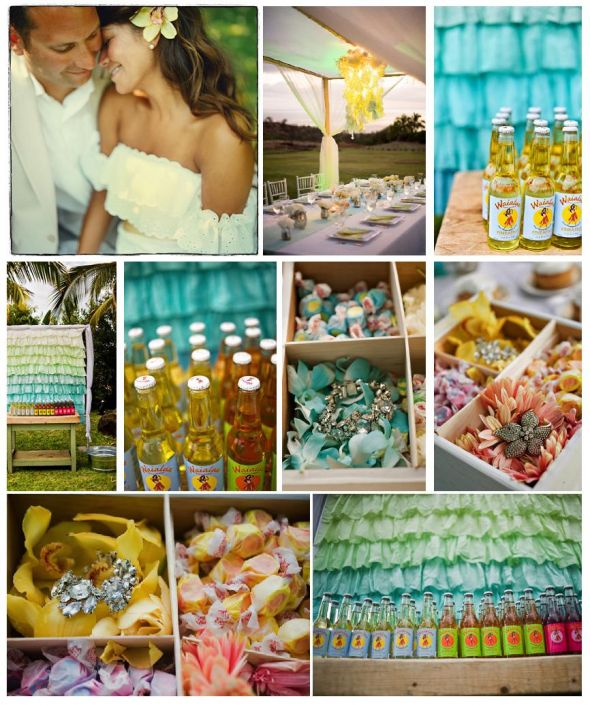 Hawaiian themed wedding ideas home decor laux memorable wedding five fun wedding theme ideas junglespirit Image collections