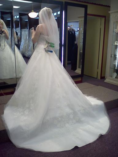 My wedding dress- Casablanca 2033
