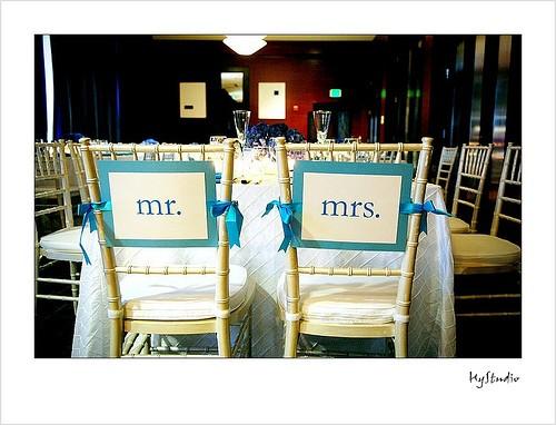Mr Amp Mrs Chair Sign Weddingbee