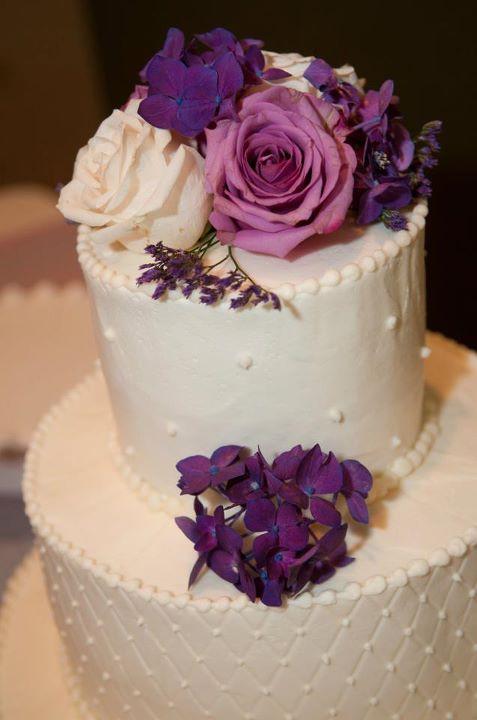 wedding dessert table cake table milk glass buttercream blue pink purple