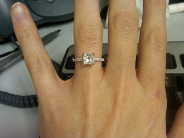 Who has just a plain ol 39 regular engagement ring
