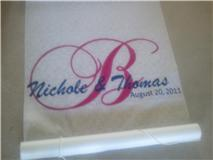 Aisle runner!!!! I looooove it!!!