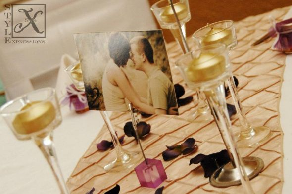 Beckylynn\'s blog: pink and brown wedding centerpieces Brown flowers ...