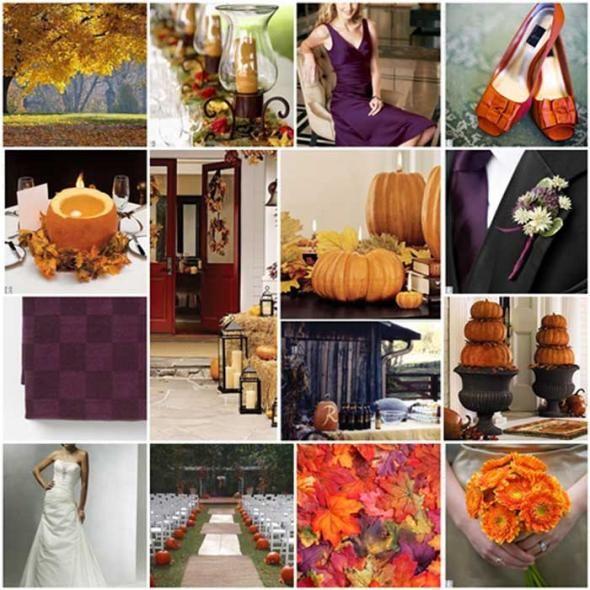 wedding bridesmaid shoes EggplantOrangeGreen Inspiration 1 year ago
