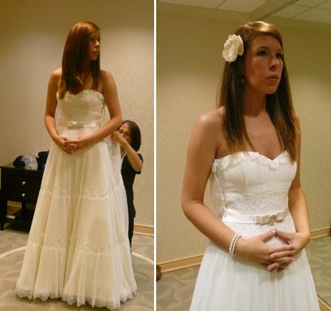 wedding wedding dress fitting melissa sweet fern cowboy boots P1060617