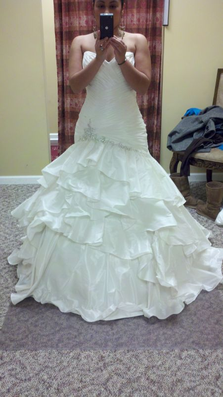 Im however Im nervous of what acces Maggie Sottero Jenna wedding jenna