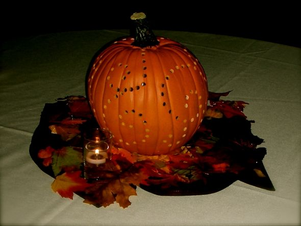 DIY fall pumpkin wedding centerpieces wedding diy pumpkins fall