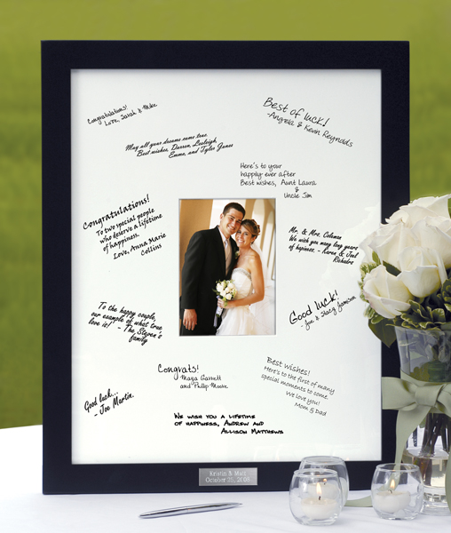 Guest Book Picture Frame/Mat