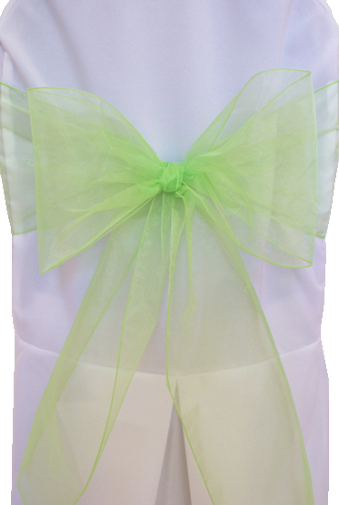 Wedding Items for Sale : wedding candy buffet chair ties take out boxes overlay candy jars flower hair table number holders green white ivory ceremony jewelry reception Chair Ties
