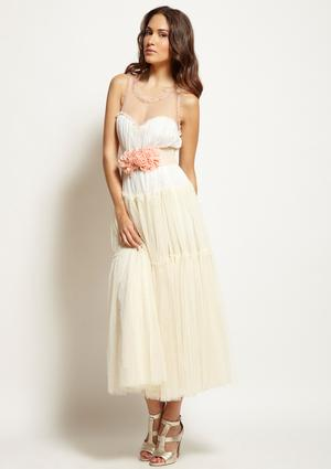 GRACIA MAXI TEA DRESS wedding engagement rustic ethereal gracia dress