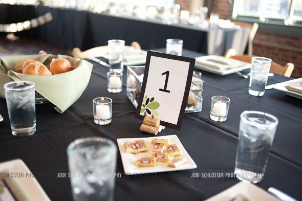 Wine Cork Table Number Holders wedding corks reception decor diy table