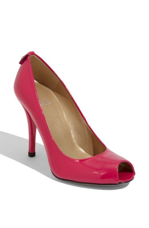 White Bridal Shoes Vs Fuchsia Bridal Shoes wedding fuchsia shoes bridal