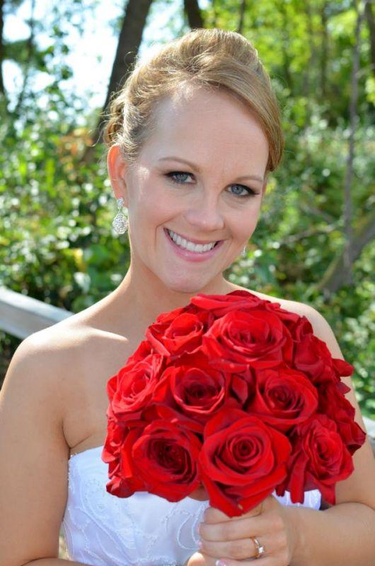 DIY Rose Bouquet Weddingbee Gallery