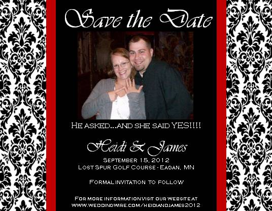 Help picking Save the Date