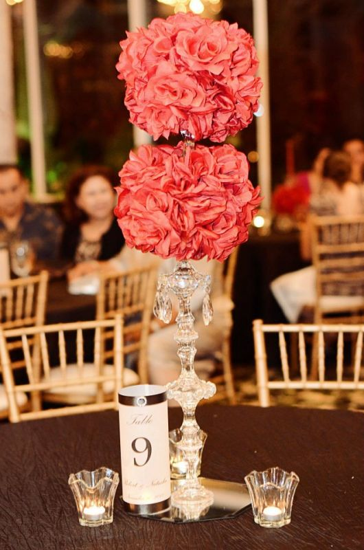 Wedding Ceremony Details Photos wedding black red white diy reception