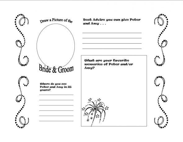 Guest Book Cover Template ~ Free sign in sheet reproducible just scroll down and click