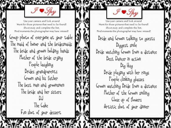 I spy templates weddings do it yourself wedding forums i spy templates weddings do it yourself wedding forums weddingwire maxwellsz