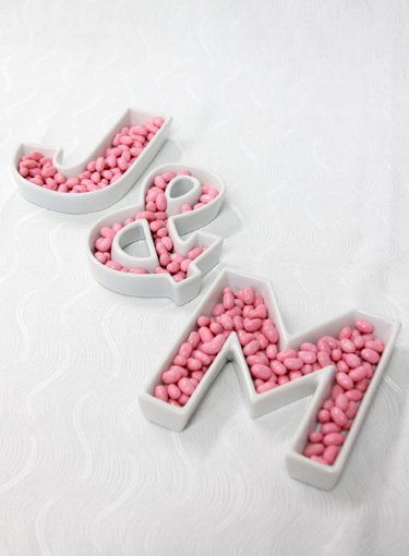 Just found: ceramic letters for >$6.00 each! - Weddingbee