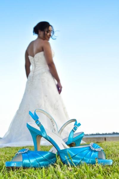 wedding shoes heels blue 20090814 20090814 DSC