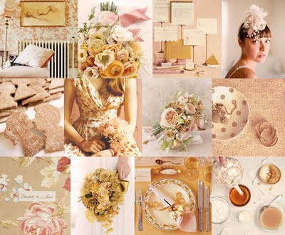 Share Your Colors wedding color theme october Peachsepiapink