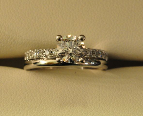 Can I See 2mm E Rings With Wedding Bands Please