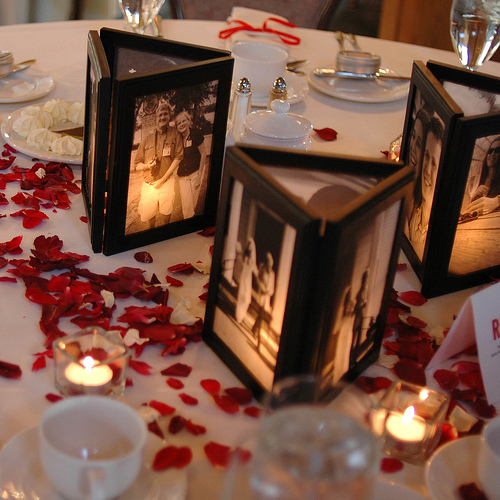 I came across a centerpiece idea and was hoping that you might be able to
