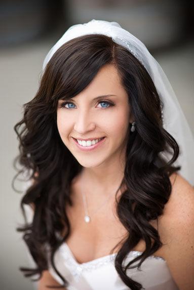 Свадебные прически 2013 распущенные волосы.