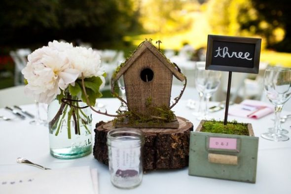 Rustic Vintage Centerpiece ideas wedding vintage rustic center piece