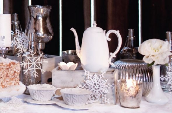 Christmas Winter Decor IdeasHELP wedding christmas winter vintage decor
