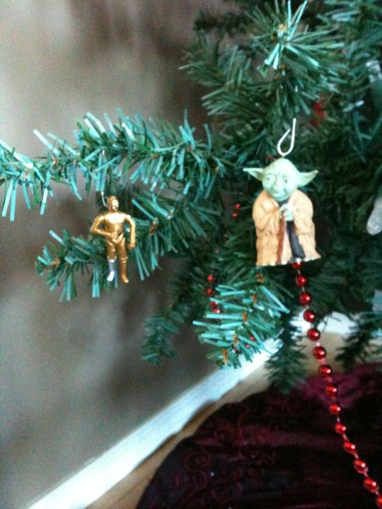 Post pics of your Christmas trees wedding christmas trees YodaC3PO