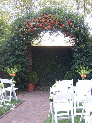 Decoration ideas for my ceremony site weddingbee for Arbor decoration ideas