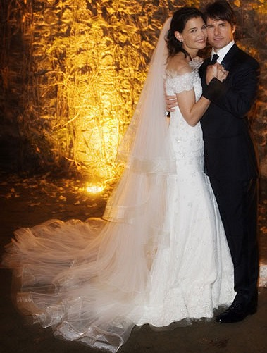 Favorite Celebrity Wedding Dress wedding Katie Holmes Wedding Dress