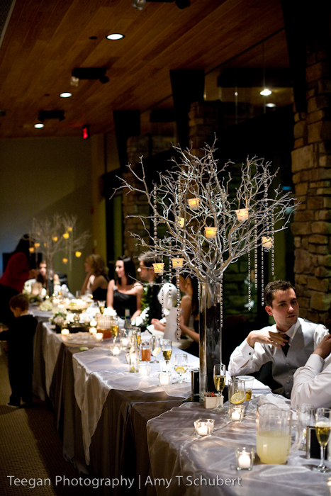 How to tie in my centerpieces