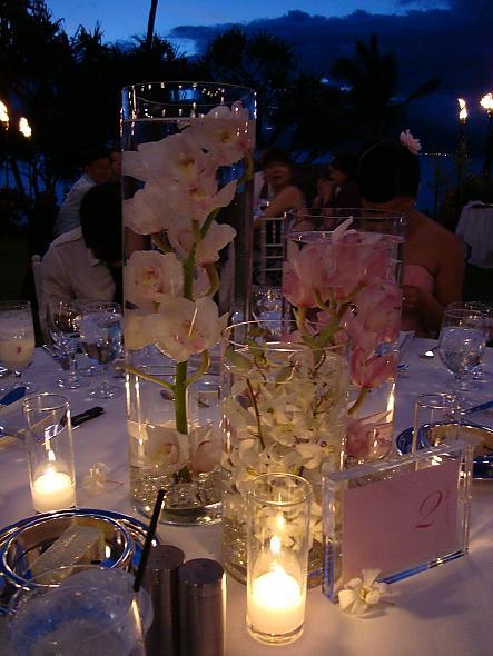 Submerged flower centerpieces weddingbee