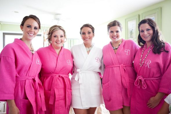 Wedding Spa Robes