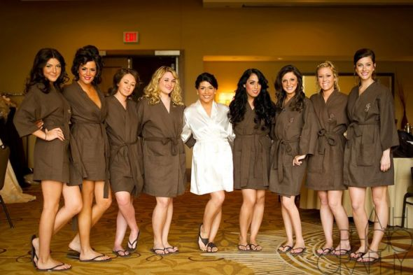 Personalized Wedding Spa Robes