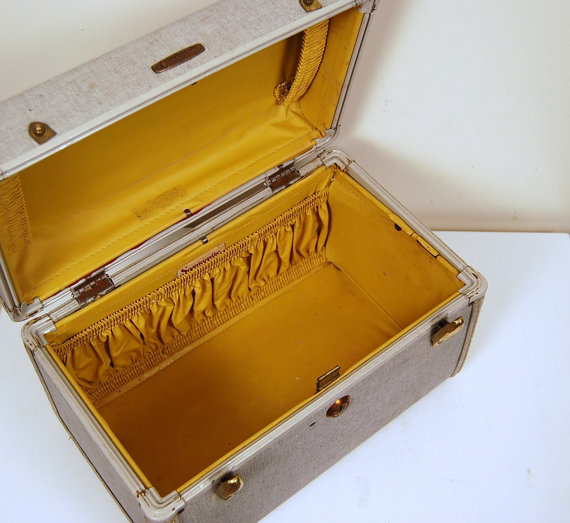 vintage card box wedding vintage card box yellow Il 570xN241459398
