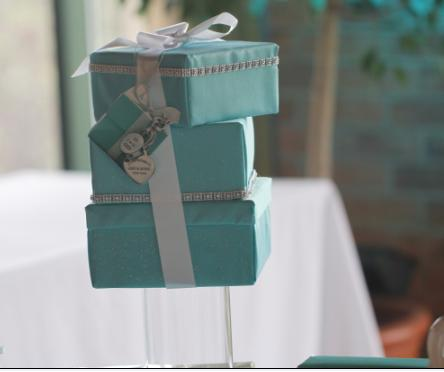 Tiffany Theme Centerpieces Decors wedding tiffany theme centerpiece