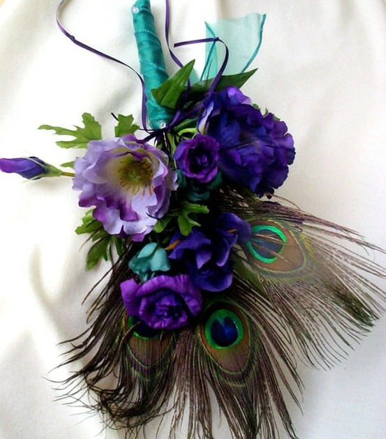 Show me your blue and purple bouquets weddingbee - Show me flowers ...
