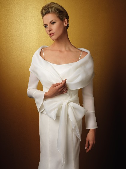 Cover Ups For Lonf Sleeve Or Veiled Brides Out There