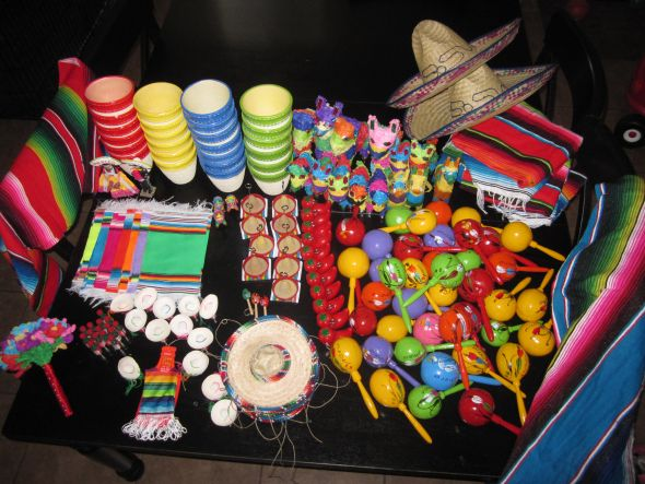 all items for 50 plus shipping Mexican Theme Reception Decorations