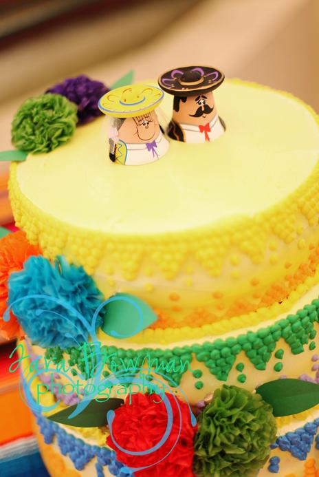 Mexican Theme Cake Topper